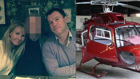 Vrtulník s pěti lidmi se zřítil v horách: Zahynul nejspíš i milionářský pár