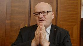 Ministr kultury Daniel Herman (KDU-ČSL) při rozhovoru pro Blesk