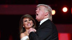 Melania a Donald Trump