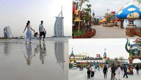 Dubaj: V nových zábavních parcích se i dospělí stanou znovu dětmi