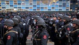 Albánie posiluje své policejní jednotky.