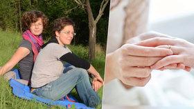 Kateřina (39) sní o velké lesbické svatbě: Nechci se registrovat jako auto