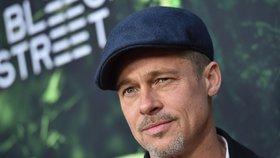 Pohublý a ztrhaný Brad Pitt poprvé promluvil o rozchodu a dětech