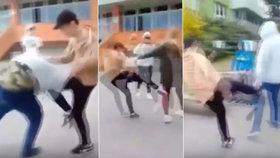 Osmák z Třebíče před školou zbil dívku, která se v bitce zastala kamaráda!