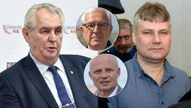 Co si myslí o milosti pro Jiřího Kajínka, řekli Blesk.cz prezidentští kandidáti Drahoš i Horáček.