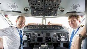 """Nizozemský král přiznal tajný """"melouch"""". Roky pilotuje komerční lety"""