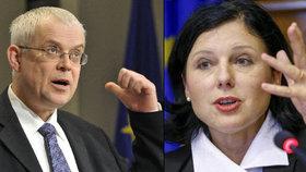 Špidla s Jourovou chtějí Česko v jádru EU.