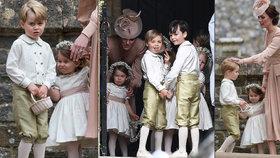 Královská svatba Pippy Middleton: Proč princ George plakal? Nevrlá Kate mu vyhubovala