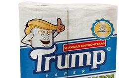 """""""Měkkost bez hranic"""": Mexičané začnou vyrábět toaletní papír značky Trump"""