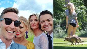 Zákulisí svatby Banášové: Hosté porušili zákaz a nevěsta ukázala zadek