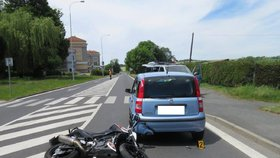 Čeští manželé utrpěli v Tyrolsku vážná zranění. Havarovali na motorce