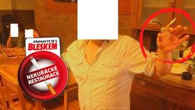 Trik kuřáků: Kouřil v lokále z vodní dýmky a odmítal přestat, »napráskal« ho hospodský