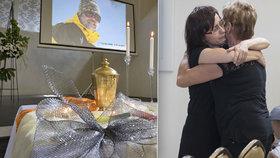 Pohřeb Vladimíra (†48), který zemřel na Everestu: Manželka a 4 děti obřad proplakaly