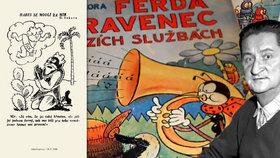 Zajímavá výstava v centru Prahy připomíná nesmrtelnou dvojici: Ferda Mravenec a jeho táta Sekora!