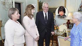 Očima Františky: Audience u královny? Snaživé dámy a extravagantní prezident