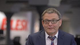 Lubomír Zaorálek coby volební lídr ČSSD zavítal do studia Blesku.