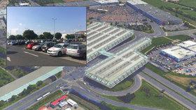 Na Zličíně vznikne parkoviště až pro 2000 aut. Má stát 1,5 miliardy