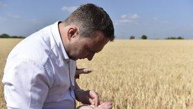 Ministr Jurečka se zemědělci řeší sucho