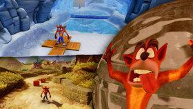 Nostalgie vás praští po hlavě! Crash Bandicoot N. Sane Trilogy dokazuje, že retro stále táhne
