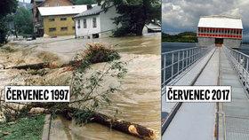 Přehrada Slezská Harta zachránila před 20 lety sever Moravy: Povodeň by města spláchla