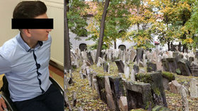 Při exkurzi na hřbitově spadl na Borise náhrobek: Za ochrnutí požaduje po škole 14 milionů