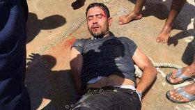 Pachatel krvavého útoku na turistky v Hurghadě