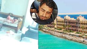 Za útokem v Hurghadě je ISIS. Češce (36) útočník v Egyptě pořezal i záda