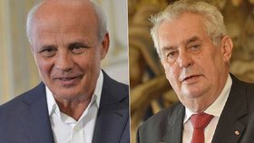 Michal Horáček si myslí, že má větší šanci stát se prezidentem než Miloš Zeman