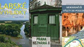 K Labi, do Prahy neznámé, do podzemí i za tajemnem: Skvělé knižní tipy na výlety