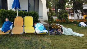 Češi o zemětřesení na Kosu: Úprk z hotelů, noc na lehátkách a výpadek proudu