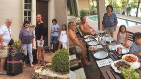 Režisér Adamec odhalil soukromí v Miami: Hostil překvapivou návštěvu