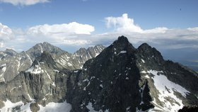 V Tatrách zemřel český turista. Z hřebene se řítil 200 metrů
