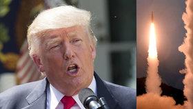 Trump se bojí KLDR. Rakety by doletěly až do LA.