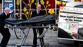 Ahmad vraždil v obchodě, chtěl být mučedník. Část Němců žádá odsun migrantů