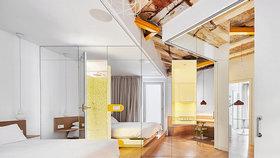 Rekonstrukce proměnila tradiční dům ve stylový domov plný zrcadel