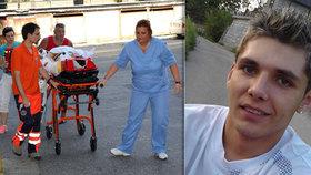 Máma zraněného Michala (25): Nemůžu mu říct, že už se v životě nenadechne
