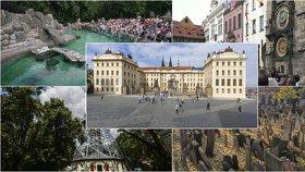 Letošních TOP 5 nejoblíbenějších míst mezi turisty: Hrad, Petřín i zoo