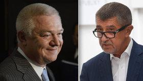 Policie zaslala do Sněmovny žádost o vydání Babiše a Faltýnka (oba ANO).