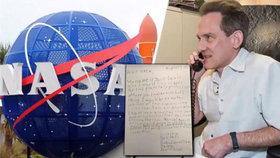 »Ochránce galaxie« se hlásí do služby: O práci u NASA se ucházel 9letý chlapec!