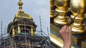 Střecha Národního muzea zasvítí zlatem: Hlavní věž opraví za 11,5 milionu