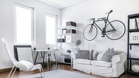 Kam s kolem v malém bytě? Galerie plná praktických nápadů