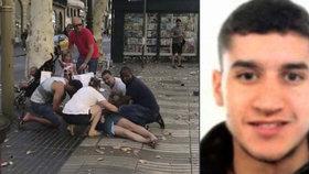 Hlavním podezřelým z útoku v Barceloně je Abouyaaqoub