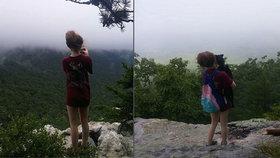 Dívku vrah vyfotil jen pár okamžiků před její smrtí.