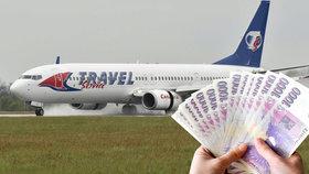 Za zpoždění letů je možné v některých případech získat vysoké odškodné (ilustrační foto).