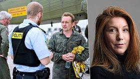 Novinářka z ponorky měla klesnout ke dnu. U trupu bez rukou, hlavy i nohou našli závaží