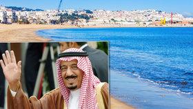 Nejdražší dovolená světa: Saúdský král dal za měsíc v Maroku 2 miliardy!