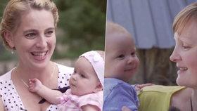 Malé lásky Zuzanka a Eliška půl roku po natáčení: Jedna bez babičky, druhá na statku