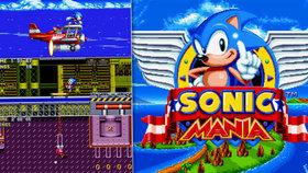 Ježek Sonic se vrátil v nejlepší hře od dob Mega Drivu: Sonic Mania je retro extáze
