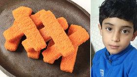 Chlapec (†9) snědl rybí prsty. Začal mít křeče, za pár chvil zemřel
