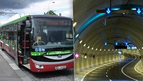 Tunelem Blanka by mohly jezdit elektrobusy: Vyřešila by se tím ekologie i bezpečnost